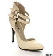 machi azusa1 womens strappy pointy toe high heels