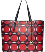 jet set deco small travel tote