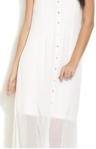 and sleeveless maxi shirt dress