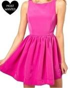 neon frock style dress