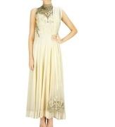 gaurav gupta ecru applique embellished kurta set
