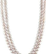 caratcube pink pearl chain for women (ccchjlplpk1000037)