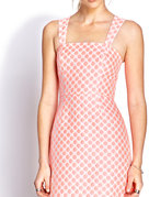 retro polka dot dress
