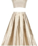 sonal kalra ahuja chardonnay midi skirt and crop top set