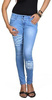 Fashion Stylus Slim Women's Light Blue Jeans
