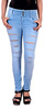 blinkin ripped slimfit jeans for women